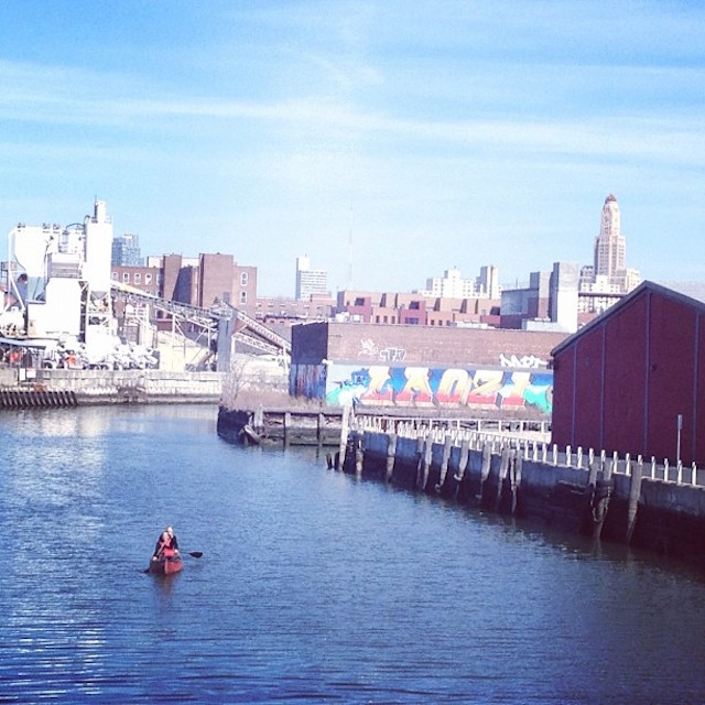 Keep the nasty waters of the Gowanus where they belong by devoting your day to Saint Florian, the patron saint of flooding. Photo: Kate Hooker