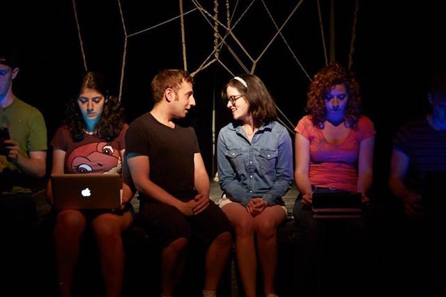 A new production of Chatroom, Enda Walsh's play about teenagers interacting over the Internet, is at The Hive through Aug. 15. Photo: Chatroom NYC