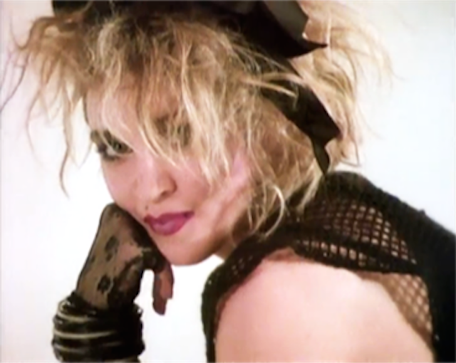 Dress as your favorite Madonna look and head to Brooklyn Bowl on Saturday night to celebrate the Material Girl's birthday. Photo: screen shot from Lucky Star video