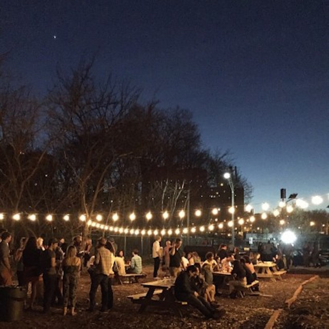 Chow down on food from the venerable Vinegar Hill House in the backyard of King's County Distillery on Thursday night. Photo: King's County Distillery