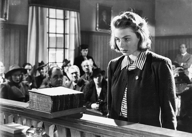 Catch the inimitable Ingrid Bergman in June Night, her last Swedish film, as part of BAM's retrospective series about her. Photo: Kino International