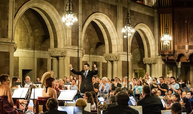 Composer James Blachly will be conducting the Experiential Orchestra as they play a Rite of Spring dance party on Saturday night. Photo: James Blachly