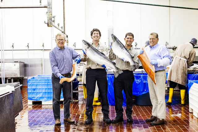 """The men behind Acme Smoked Fish, one of the 110+ craft food and drink makers featured in """"Made in Brooklyn."""" Photo: Heather Weston"""