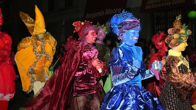 Saturday is Halloween, and you've got a lot of options of places to go and costumes to see. Photo: New York City Halloween Parade