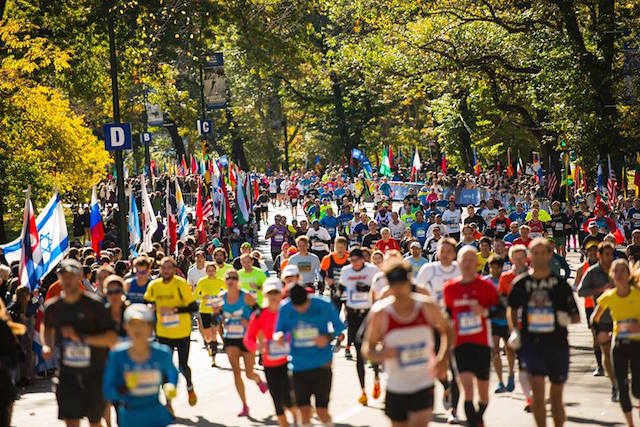 Settle on your favorite spot to watch the runners go by on Sunday, when the New York City Marathon comes back to town. Photo: TCS New York City Marathon