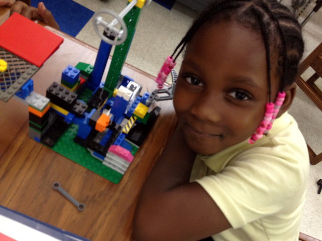 Bringing life to lego projects has never been easier, than with this pre-robotics class. Photo: Robofun!