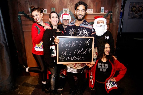 A photo from last year's Big Brooklyn Holiday Toy Drive party. Photo: BBHTD