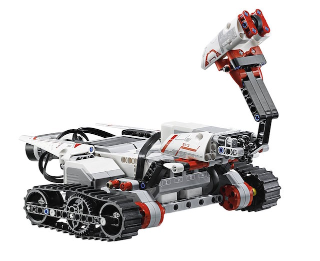 These interactive and programmable robots are almost as cute as that dog your son asked for. Photo: Lego Mindstorm