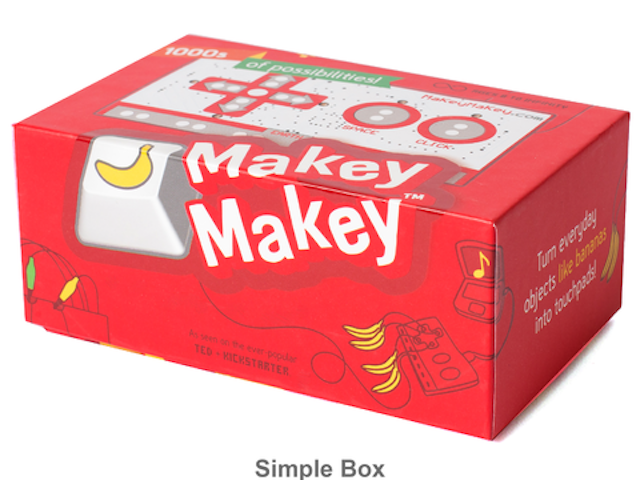 """When your child is bored, you can say """"Go play your banana piano."""" Photo: Makey Makey"""