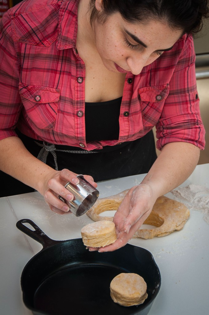 Chef Michelle Warner can help you develop a wicked biscuit hand.