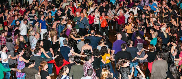 How fun does this look? The Zlatne Uste Festival will make your dreams come true at the Grand Prospect Hall this weekend. Photo: goldenfest.org