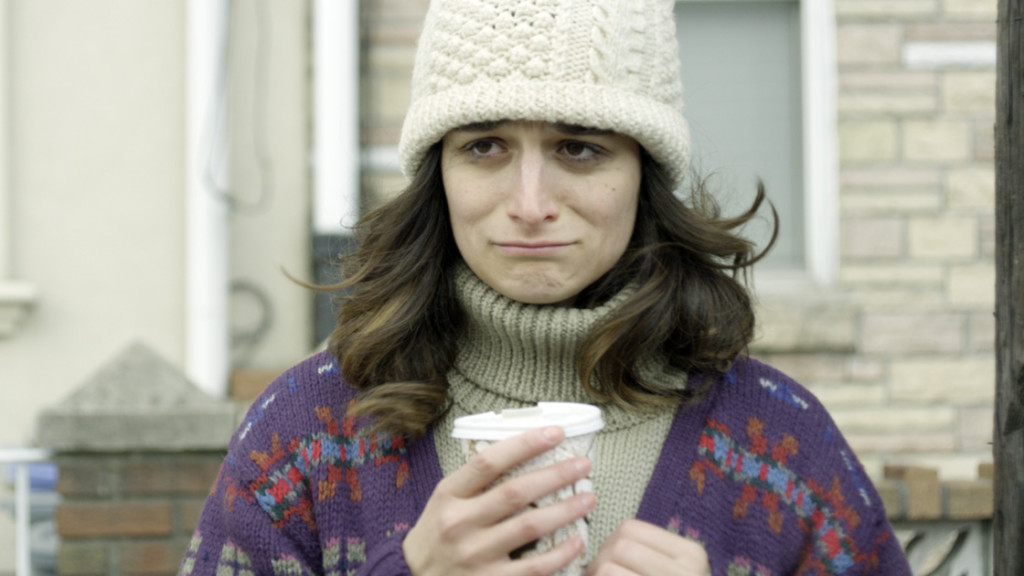 Is that hot chocolate Jenny Slate is holding? Photo: Rooks Nest Entertainment