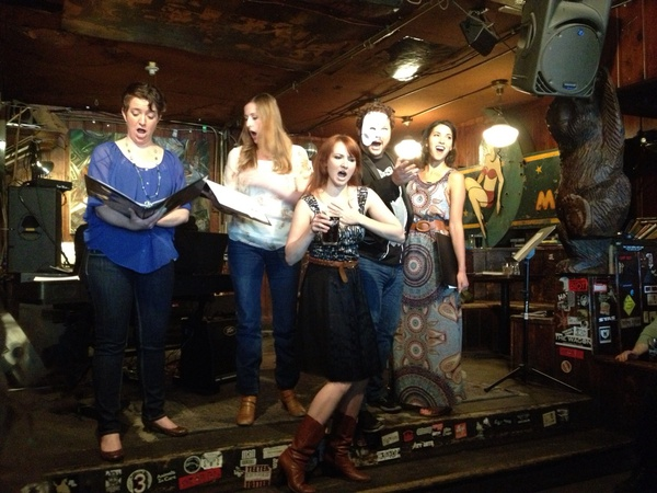 Never seen opera performed in a dive bar, eh? Time to change that on Thursday evening. Photo: Opera On Tap