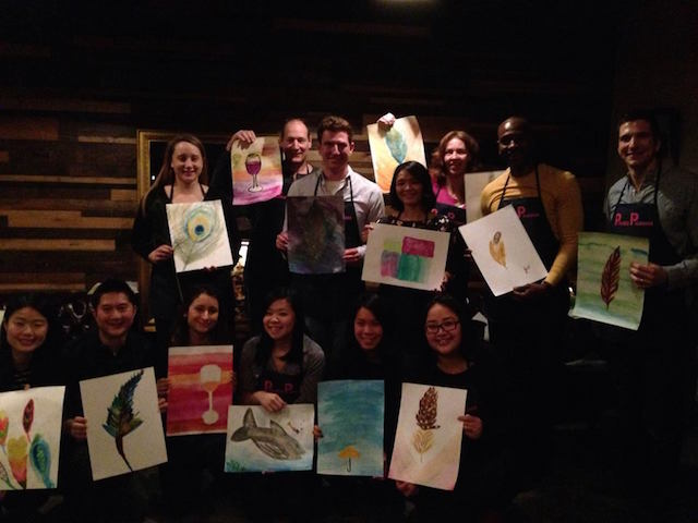 Start 2016 with a burst of creativity at a watercolor workshop at Sycamore Bar on Saturday afternoon. Photo: Private Picassos