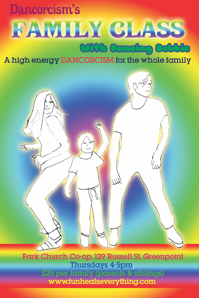 This weekly family dance party gives you a chance to rock out with your children.