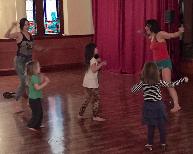 Unlike other kids' dance classes, this is for the parents too. Get ready to shake it.