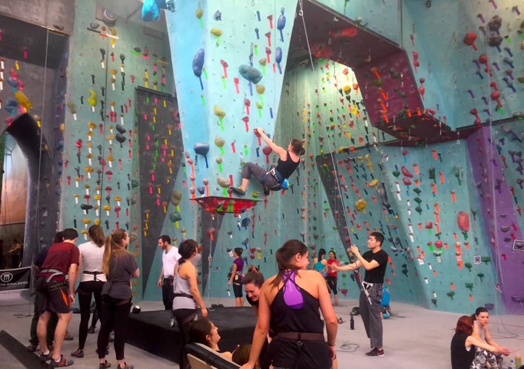BKB has rock climbing gyms in Gowanus, Long Island City and Sommerville, Massachusetts. Photo: Kathleen Wong