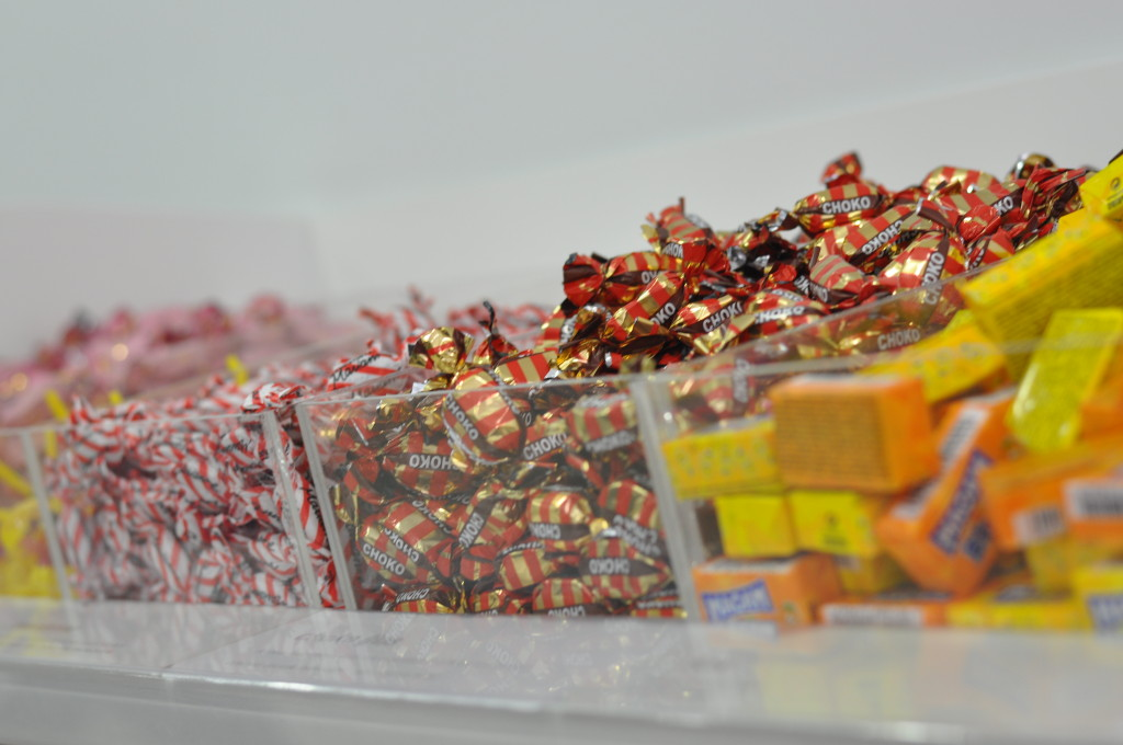 Sockerbit is like a futuristic candy store. Photo: Regina Mogilevskaya