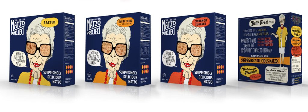 The Matzo Project launched with a small run of three different types of matzo and sold out in one day.