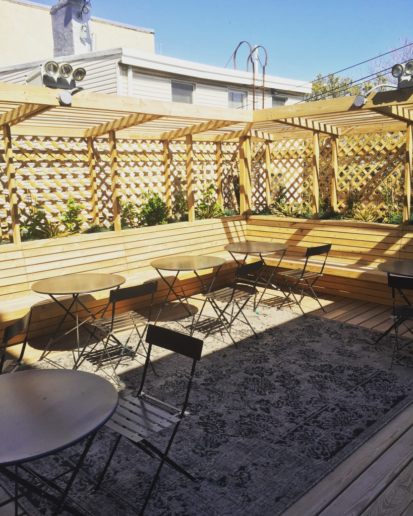 Falcon Laundry is courting locals for rooftop cocktails. Photo: Kelsey Smith