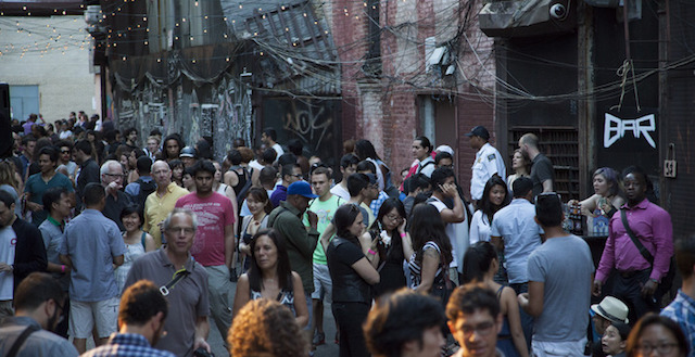 The Grove Alley Night Market is back on Friday. Photo: Grove Alley