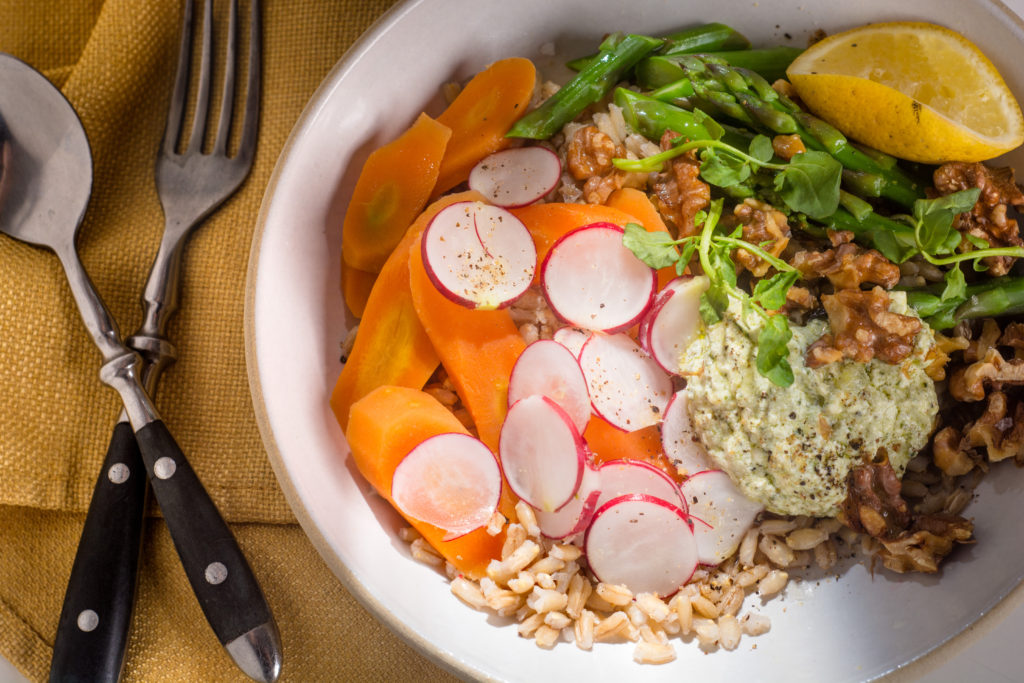 Lukas Volger's vegetarian recipes are full of flavor and crunch. All photos: Spencer Starnes