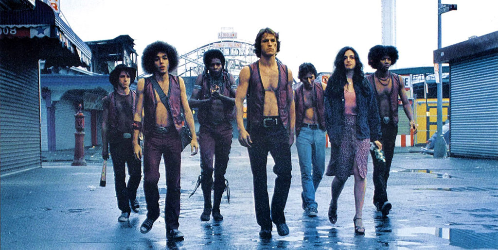 """""""The Warriors"""" closes the three-part film series we're presenting with the Brooklyn Historical Society. Come out and play-ee-ay with us in August!"""