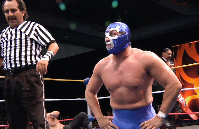 """""""Lucha Mexico"""" is playing at The NItehawk all week. Photo: Lucha Mexico"""