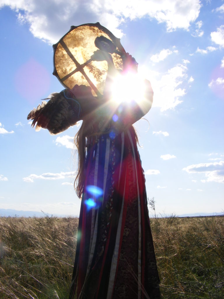 ChokBar is from a long line of Tuvan shamans. Photo: Rubin Museum