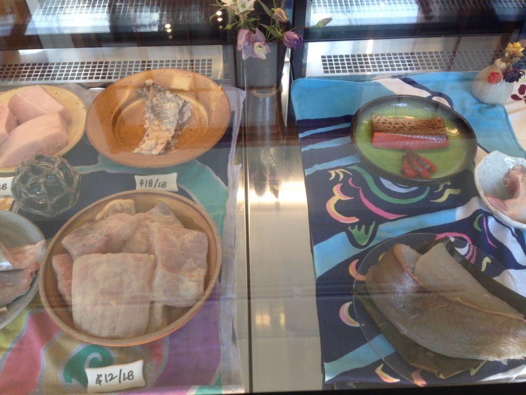 Fish on display at Osakana. Photo: Annaliese Griffin