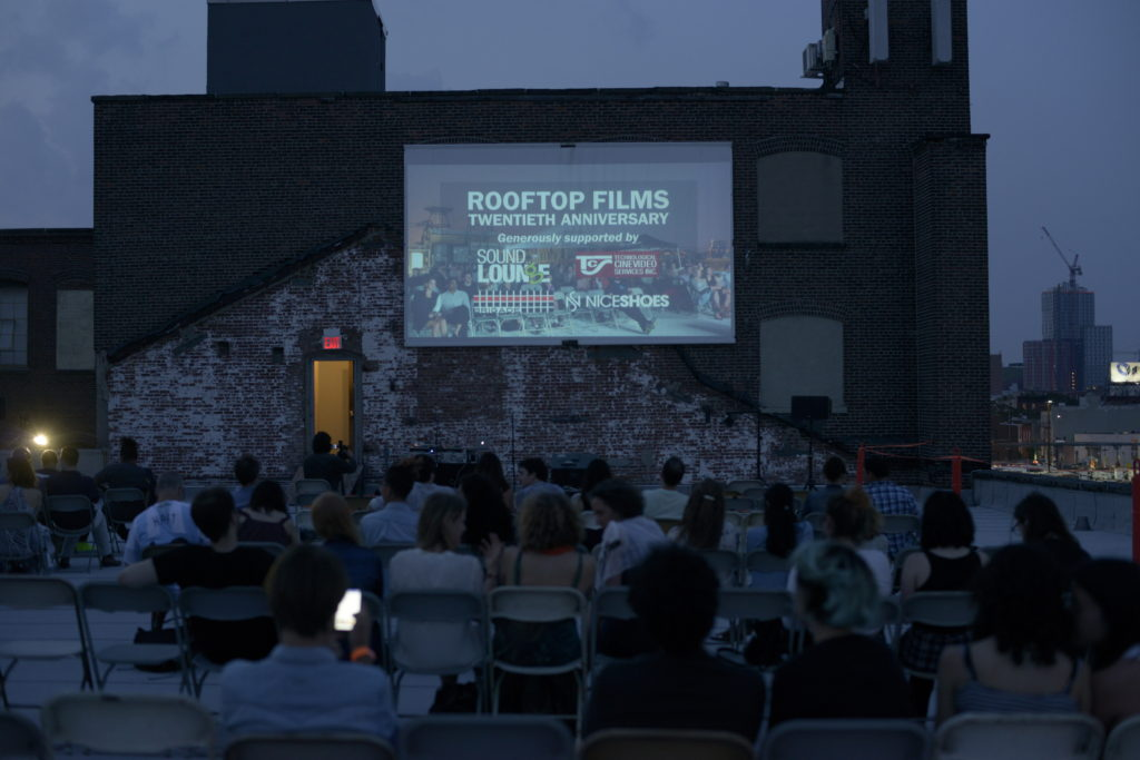 This summer marks 20 seasons for Rooftop Films. Photo: Josh Davy