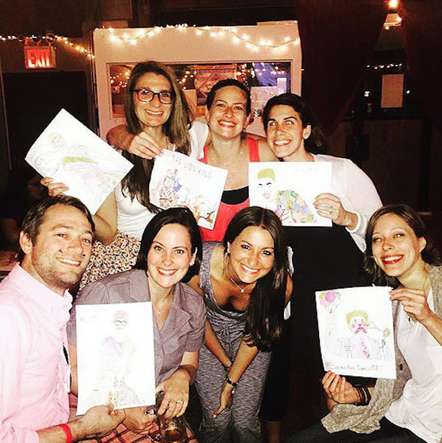 Adult coloring books, they're a thing. Get your color and cocktail on, Wednesday night. Photo: Coloring Club