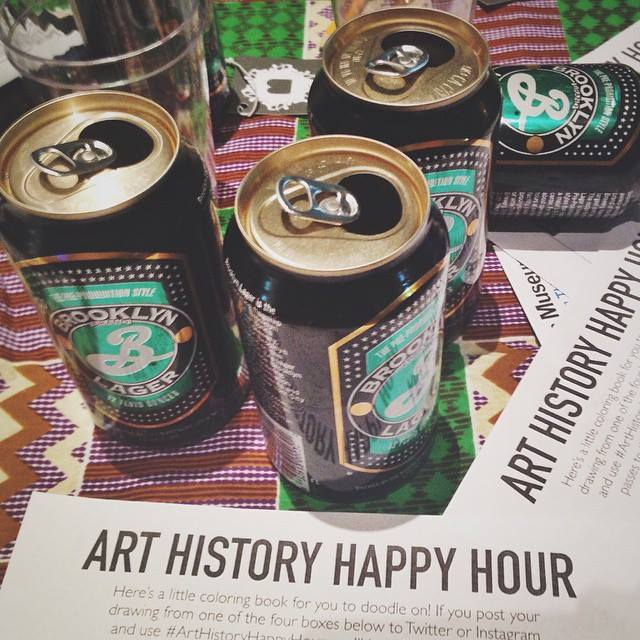 Say AHHH at the Brooklyn Museum. Photo: Art History Happy Hour