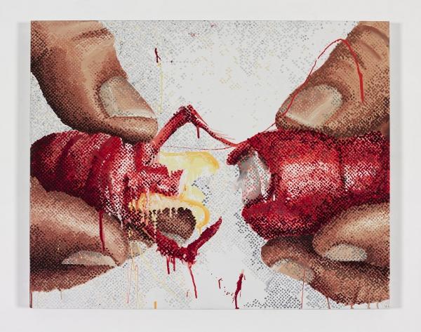 100 Food Porn, #9, Marilyn Minter. Courtesy: Brooklyn Museum
