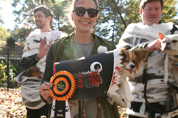 Do you have what it takes to be a Fort Greene Pups costume contest winner? Photo: Fort Greene Pups