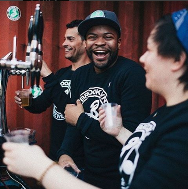 Brooklyn Brewery will be at The Well for Blocktoberfest on Sunday. Photo: @BrooklynBrewery on Instagram