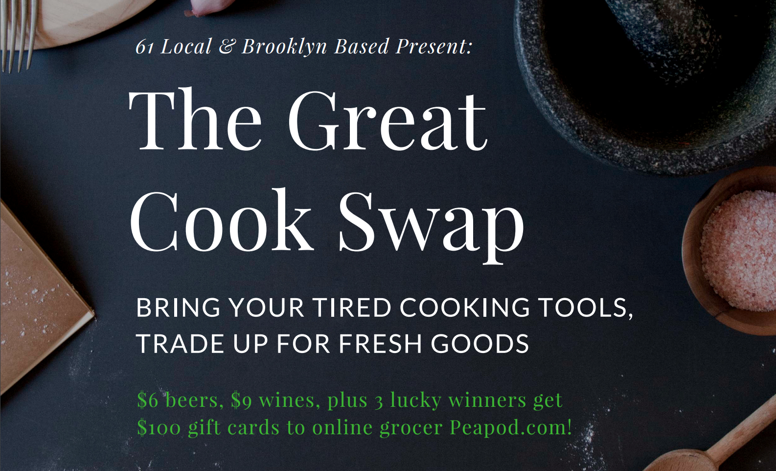 the great cook swap refresh your kitchen collection on dec 13 the great cook swap refresh your kitchen collection on dec 13 brooklyn based