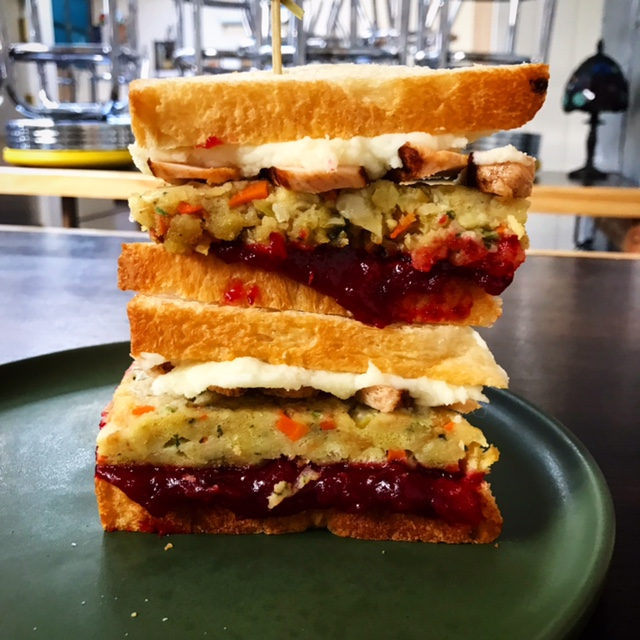 The Thanksgiving Club from Hail Mary is quite possibly the best Thanksgiving sandwich of all time. Photo: Hail Mary