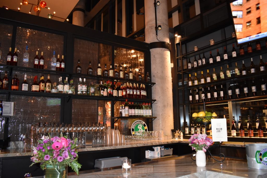 In addition to a central bar, you can also grab drinks at Mason Jar, above, and Boqueria. Photo: Georgia Kral.