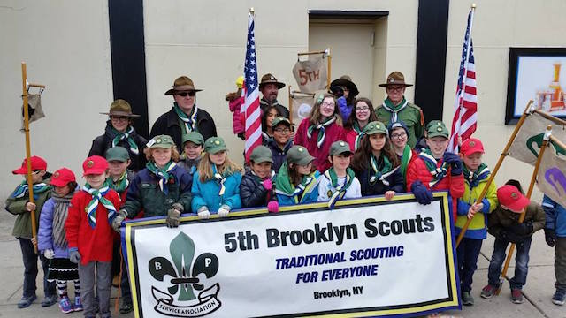 Photo: Brooklyn Scouts