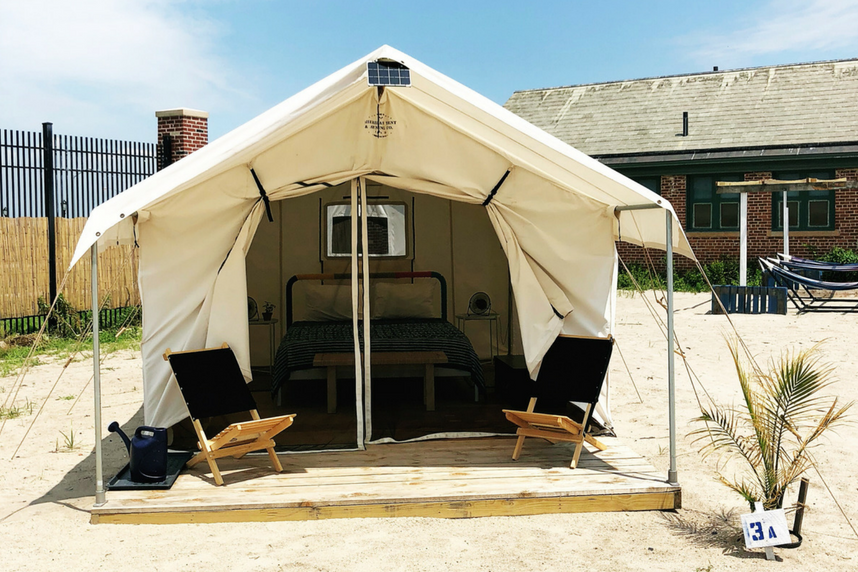 Travel Journal Glamping In The Rockaways