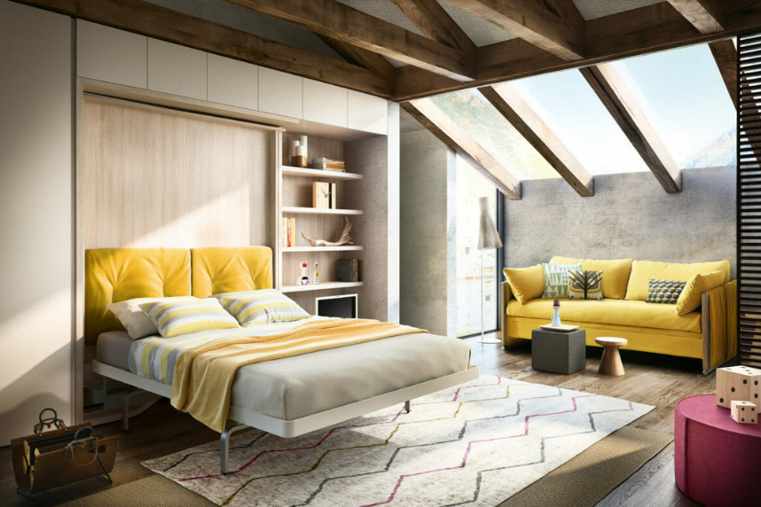 Wall Beds The Best Thing For Your Apartment Since The Murphy Bed