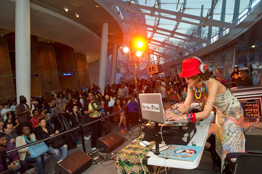 First Saturday at Brooklyn Museum