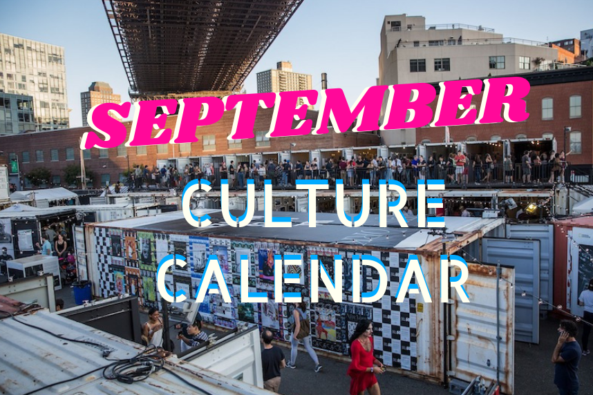 10 culture essentials for September