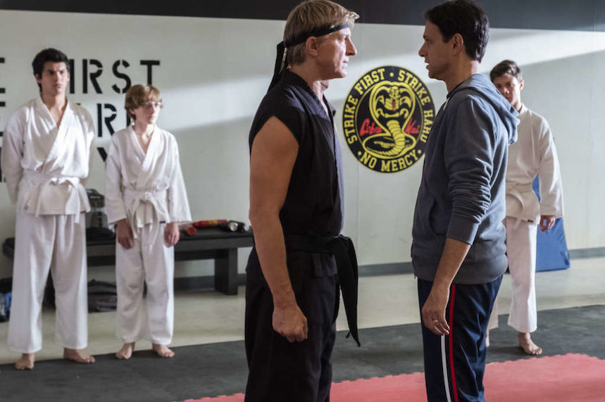 The infectious, dojo-dramatics of 'Cobra Kai'